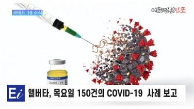 앨버타주, 목요일 150건 새로운 COVID-19 사례 보고 예방 접종률  69.9%로 상승